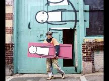 Stik in Shoreditch: the artist's hidden tribute to a sold-off London