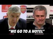 JOSE MOURINHO AND ARSENE WENGER'S LOVE AFFAIR