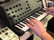 KORG ms-20 mini jam session